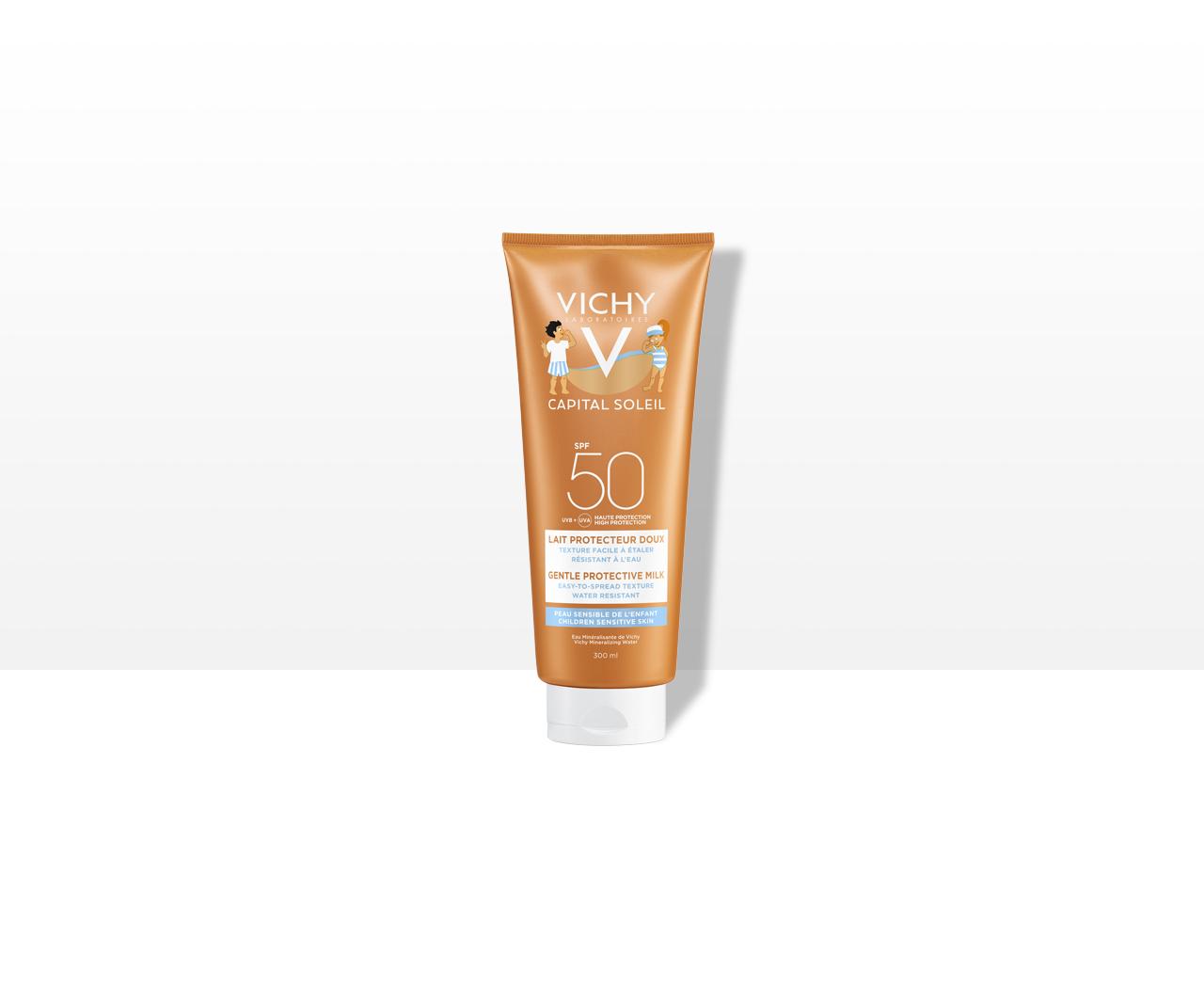 Ochranné mléko pro děti SPF 50 na obličej a tělo