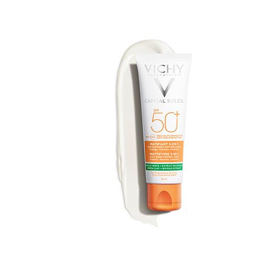 Zmatňující ochranný krém 3v1 SPF 50+