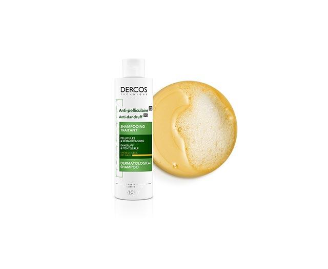 Šampon proti lupům na suché vlasy