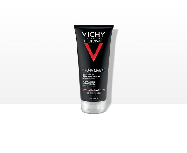 MAG C Hydratacní povzbuzující sprchový gel na tělo a vlasy