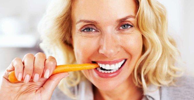 Menopauza: jak bych se měla stravovat v 50?