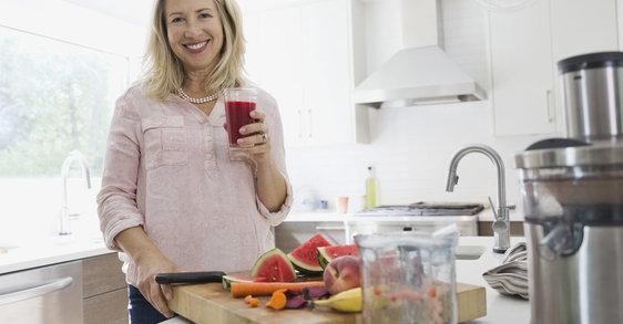 Správné živiny mohou zmírnit symptomy spojené s menopauzou