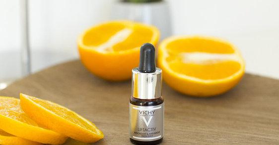 Novinka Liftactiv Fresh Shot: Intenzivní antioxidační kúra proti únavě pleti