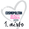 Cosmopolitan beauty awards 2019 - 1. místo